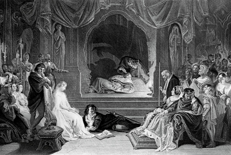 persecution of hamlet Hamlet believes ophelia is the crazy one because of his lack of memory and poor recollection he has of giving her these gifts, during the time hamlet gave ophelia the gifts he was in a period of mania as well as in this encounter he is going through a manic episode.