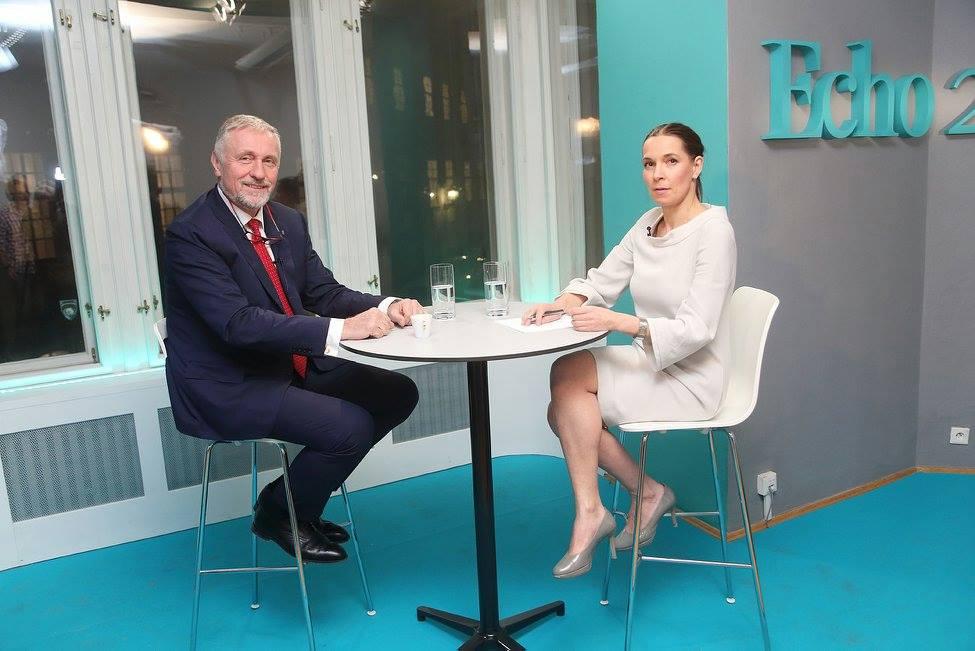 Premiéra Echo TV: jako první kandidát se představil Mirek Topolánek