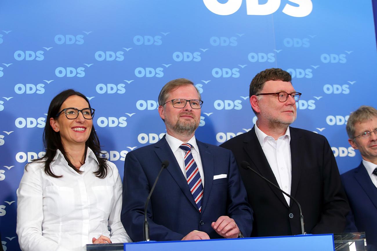 ODS chce přistřihnout křídla vládě v demisi