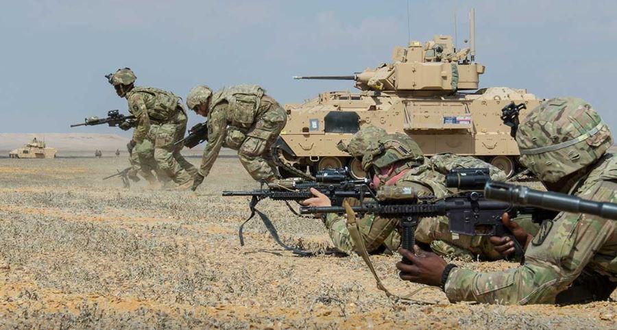 USA v Sýrii po stažení vojsk ponechají kolem 400 mužů. Počty vojáků z EU jsou zatím nejasné