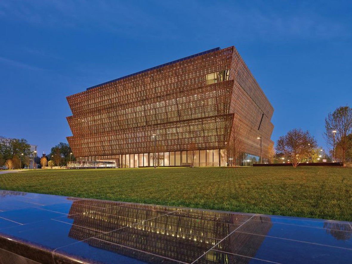 National Museum of African American History and Culture ve Washingtonu D.C.